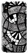 Doodle Circular  IPhone Case