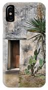 Door In Spanish Mission Building IPhone Case