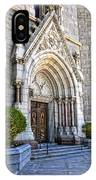 Doorway Sacred Heart Cathedral IPhone Case