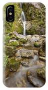 Dorothy Falls Near Lake Kaniere New IPhone Case