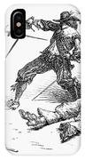 Double Duel IPhone Case