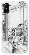 Double Oscillating Steam Engine IPhone Case