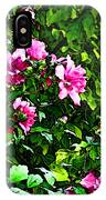 Double Rose Of Sharon IPhone Case