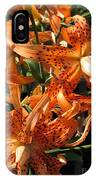 Double Tiger Lily Named Flora Pleno IPhone Case