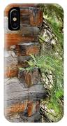 Dovetail Log Construction IPhone Case