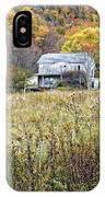Down In A West Va Valley IPhone Case