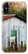 Down On The Farm - Old Shed IPhone Case
