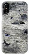 Down The Feather River IPhone Case