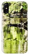 Downstream Reflections IPhone Case