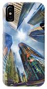 Downtown Sunstream IPhone Case