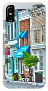 Downtown Waterville IPhone Case
