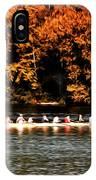 Dragon Boat On The Schuylkill IPhone Case