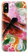 Dragonfly Fairy I IPhone Case