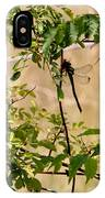 Dragonfly Lunch IPhone Case