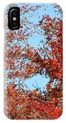 Dressed For Autumn IPhone Case
