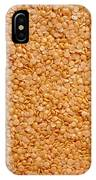 Dried Lentils, A Type Of Pulse IPhone Case