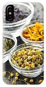 Dried Medicinal Herbs IPhone Case
