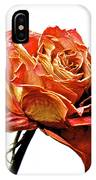 Dried Rose IPhone Case