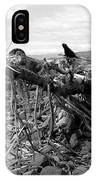 Driftwood And Rocks IPhone Case