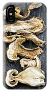 Dry Porcini Mushrooms IPhone Case