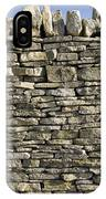 Dry Stone Wall, Dorset IPhone Case