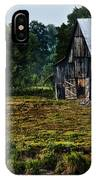 Drying Tobacco Barn IPhone Case