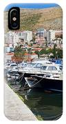 Dubrovnik Cityscape And Harbor IPhone Case