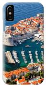 Dubrovnik Old City Aerial View IPhone Case