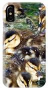 Duck-pile IPhone Case