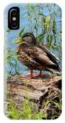 Duck Season IPhone Case