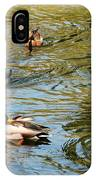 Ducks On The Water IPhone Case