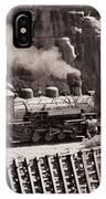 Durango And Silverton Steam Train IPhone Case