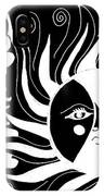 Dusk Dancer - Inverted IPhone Case