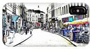Dutch Shopping Street- Digital Art IPhone Case