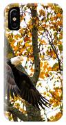 Eagle In Autumn IPhone Case