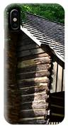 Early 19th Century Log Cabin IPhone Case