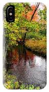 Early Autumn In Maine IPhone Case