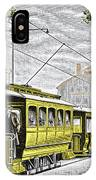 Early Electric Tram IPhone Case