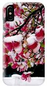 Early Magnolia Late Snow IPhone Case