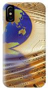 Earth In The Printed Circuit IPhone Case