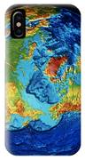 Earth: Topography IPhone Case