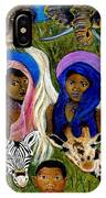 Earthangels Abeni And Adesina From Africa IPhone X Case