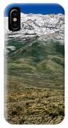 East Humboldt Range IPhone Case