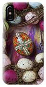 Easter Egg With Wreath IPhone Case