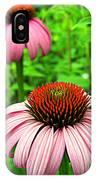 Echinacea Duo IPhone Case