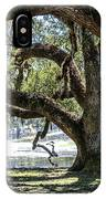 Edge Of The Green Swamp IPhone Case