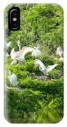 Egret Estuary IPhone Case