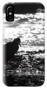 Egret Silhouette  IPhone Case