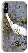 Egret Walking IPhone Case