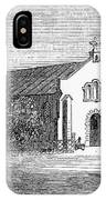 Egypt: El Guisr Church, 1869 IPhone Case
